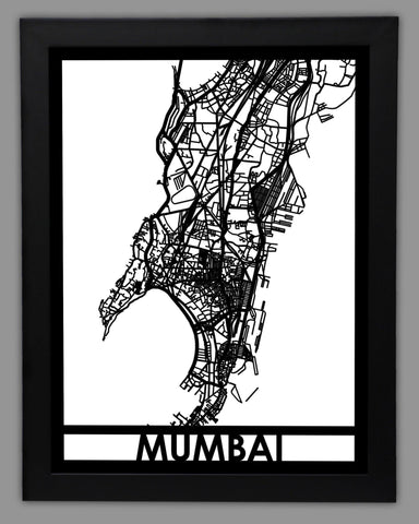 Mumbai - Cut Maps
