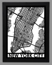 Load image into Gallery viewer, New York City - Cool Cut Map Gift