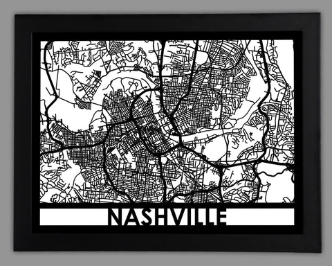 Nashville - Cut Maps