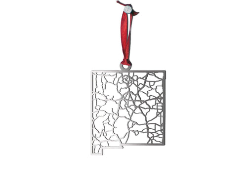 New Mexico Ornament - Cool Cut Map Gift