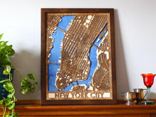 "Load image into Gallery viewer, 18""x24"" New York City 3 Layer Map"