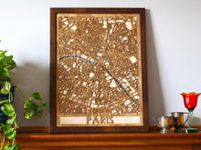 "Load image into Gallery viewer, 18""x24"" Paris 3 Layer Map"