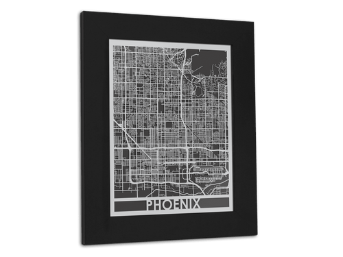 Phoenix - Stainless Steel Map - 11