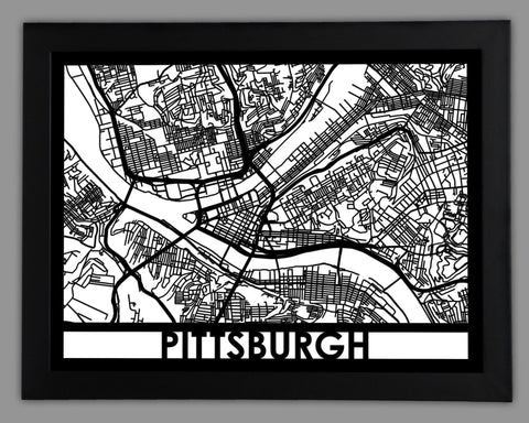 Pittsburgh - Cut Maps