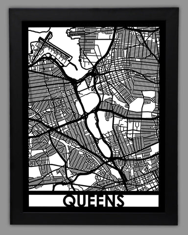 Queens - Cut Maps