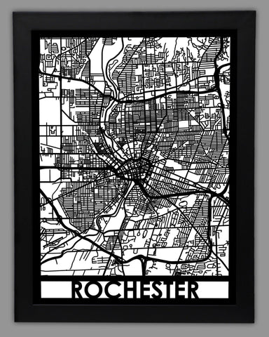 Rochester - Cut Maps