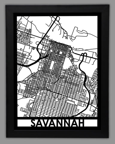Savannah - Cut Maps