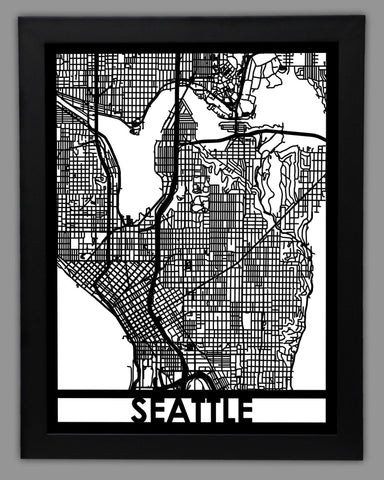 Seattle - Cut Maps