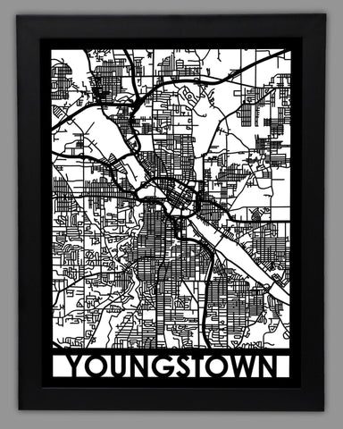 Youngstown - Cut Maps