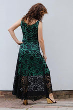 Load image into Gallery viewer, EVITA MAXI LACE DRESS-GREEN