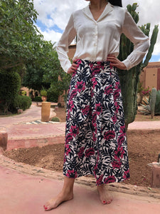 ELISA MIDI SKIRT IN COTTON