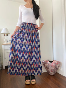 STELLA SKIRT IN GEOMETRIC
