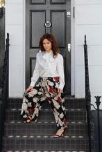 Load image into Gallery viewer, LUCY SILK CREPE WIDE- LEG PANTS