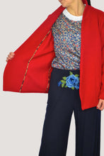 Load image into Gallery viewer, GIULIA BLAZER IN RED