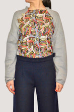 Load image into Gallery viewer, SILVIA SWEATSHIRT WITH SILK