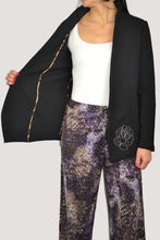 Load image into Gallery viewer, GIULIA BLAZER IN BLACK
