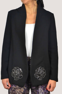GIULIA BLAZER IN BLACK