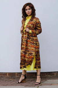 TATIANA LONG SILK KAFTAN