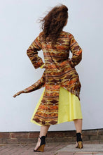 Load image into Gallery viewer, TATIANA LONG SILK KAFTAN