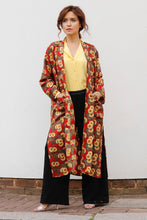 Load image into Gallery viewer, BARBARA LONG SILK KAFTAN