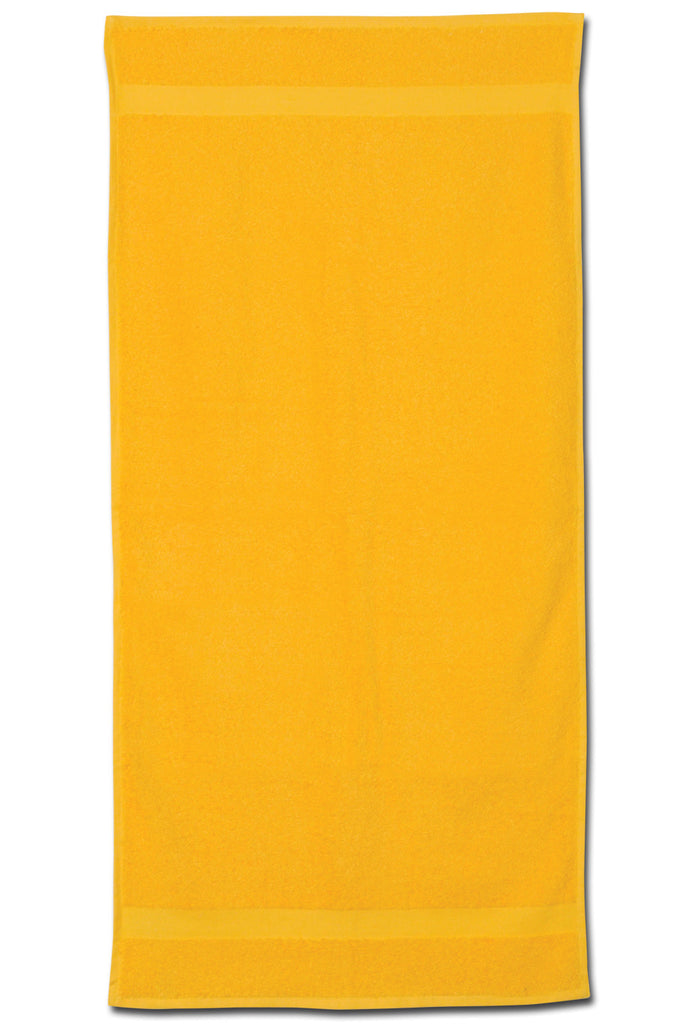 "22"" x 44"" colored gym towel"