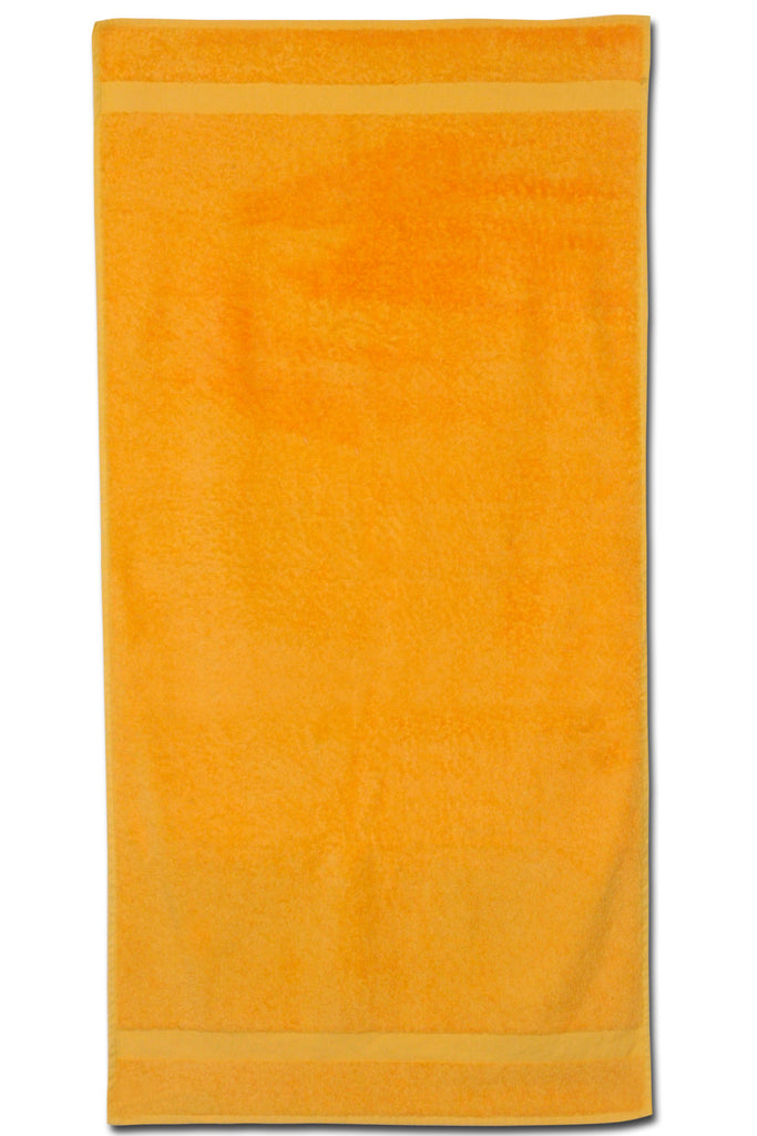 "24"" x 50"" colored bath, locker room towel"