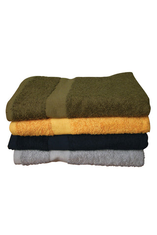"Colored Shower Towel - 24"" x 50"" 10 lbs/doz"