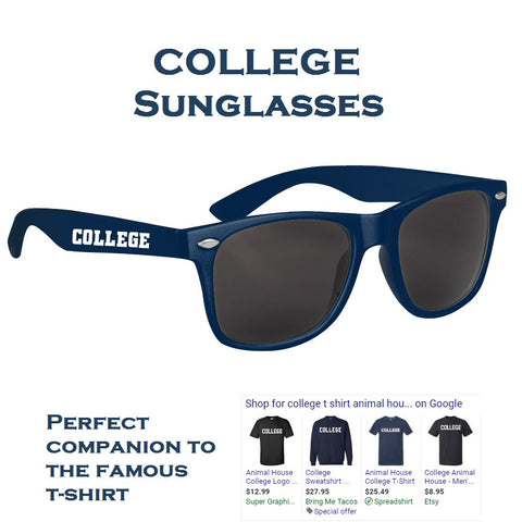 College Sunglasses 24 pc Case
