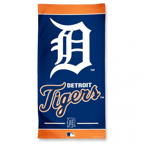"Beach Towel Detroit Tigers - 30"" x 60"""
