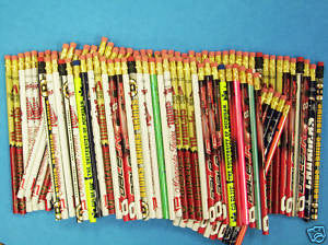 Assorted Sports Pencils (Package of 250)