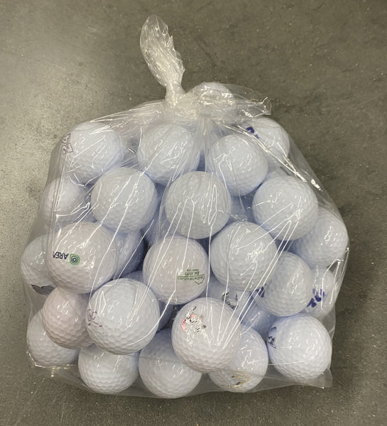 Assorted Overrun Golf Balls (Package of 50)
