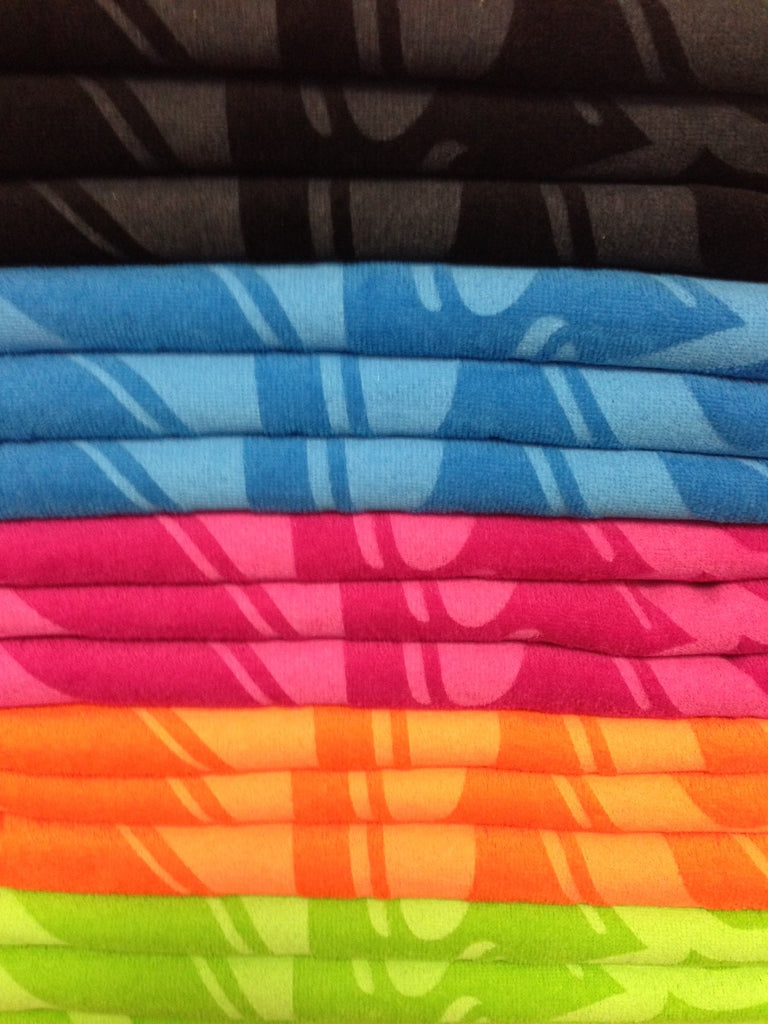 "Neon Beach Towel - 30"" x 60"" 11 lbs/doz Dozen Deal"