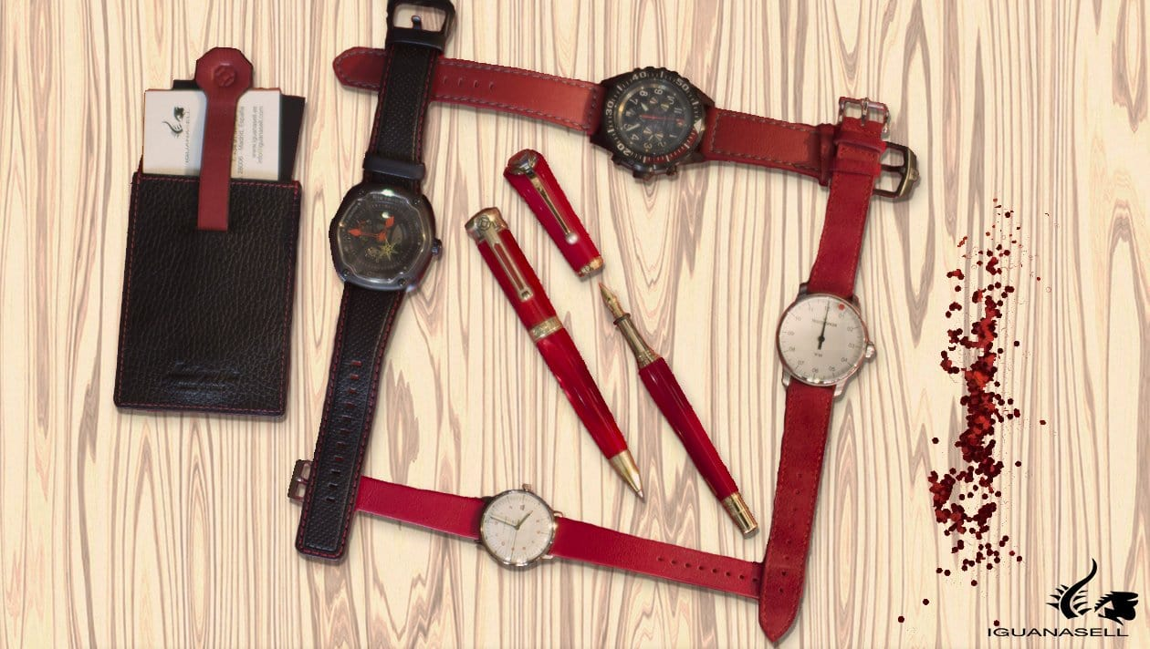 automatic watch red