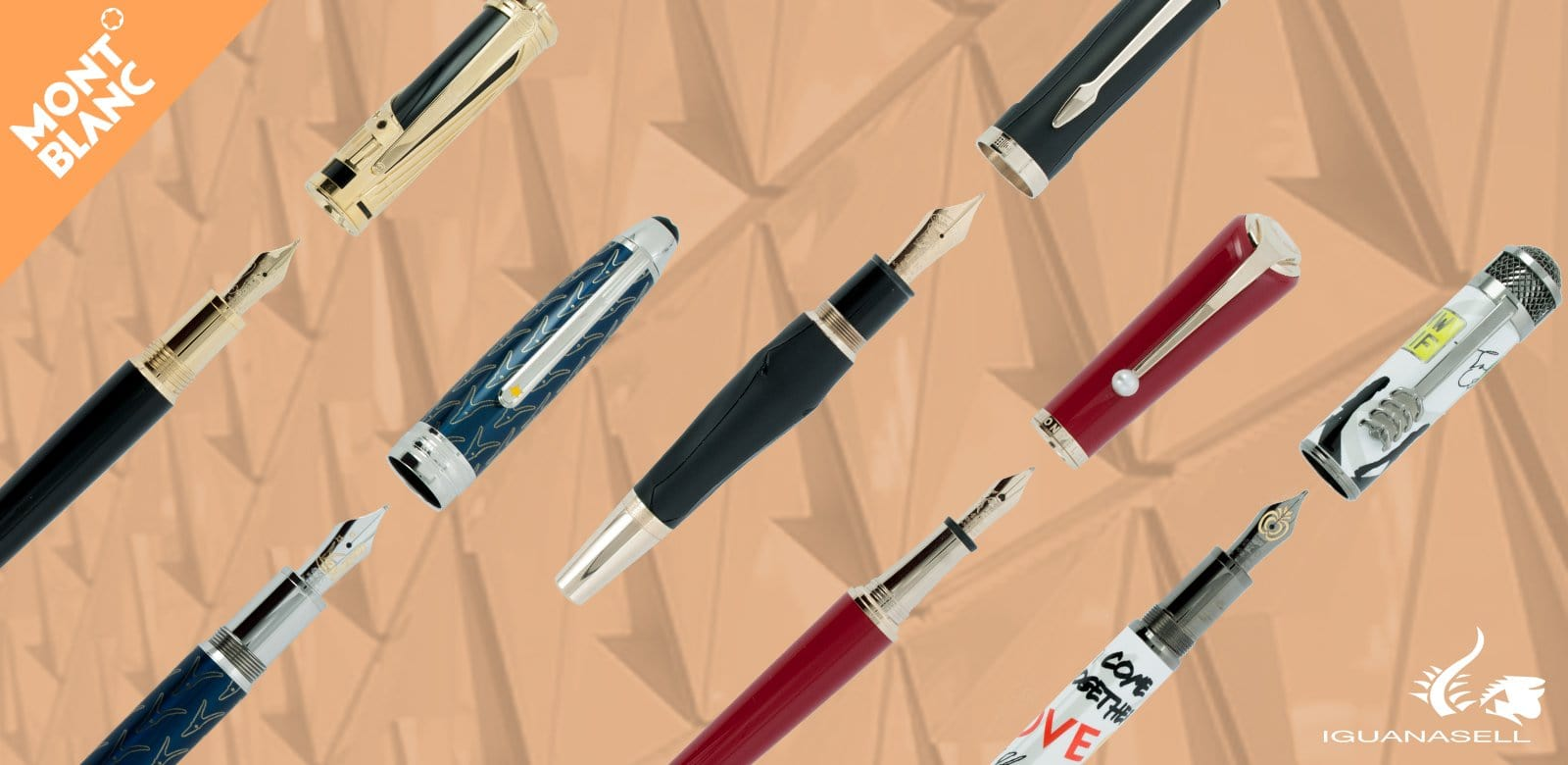 Pens Watches Aurora Montegrappa Namiki St Dupont Visconti Mouse Optick Voltre Montblanc Special Editions