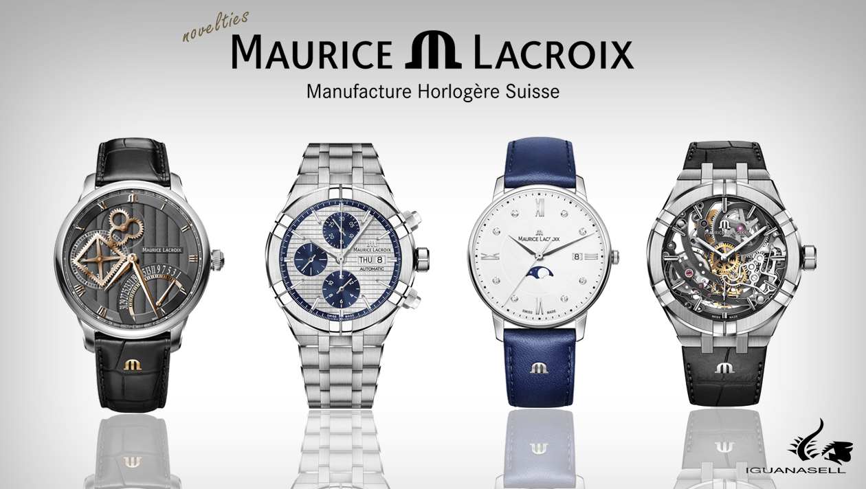 Maurice Lacroix novelties, Aikon automatic watch