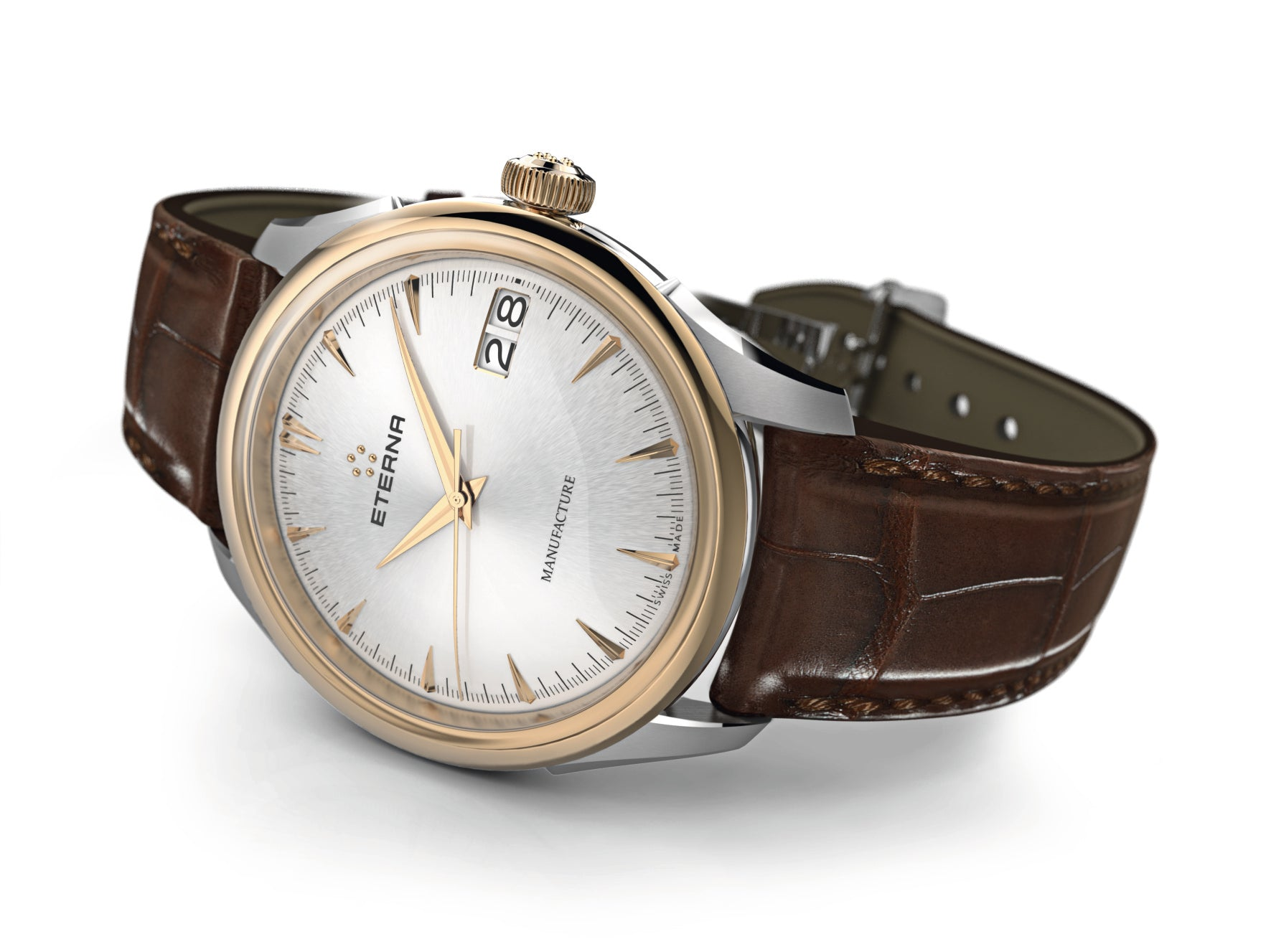 New Eterna 1948 Legacy Big Date Watch