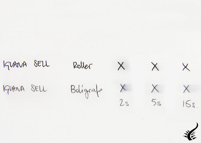 Differences roller and ballpoint