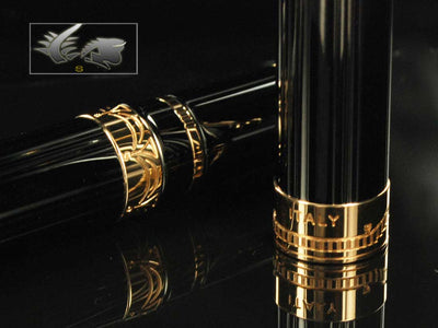 Aurora Andrea Palladio Fountain Pen,  Limited Edition, Rose gold trim