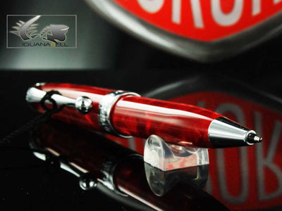 Aurora Aurea Minima Fuoco Ballpoint pen, Marbled resin, Limited Edition, 067M