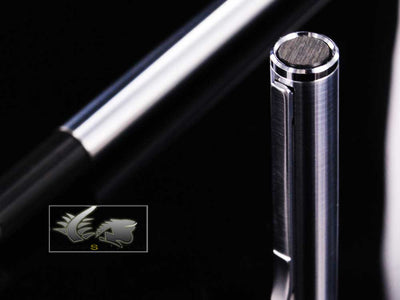 Aurora Hastil Fountain Pen - Micro-engraved Ecosteel 032