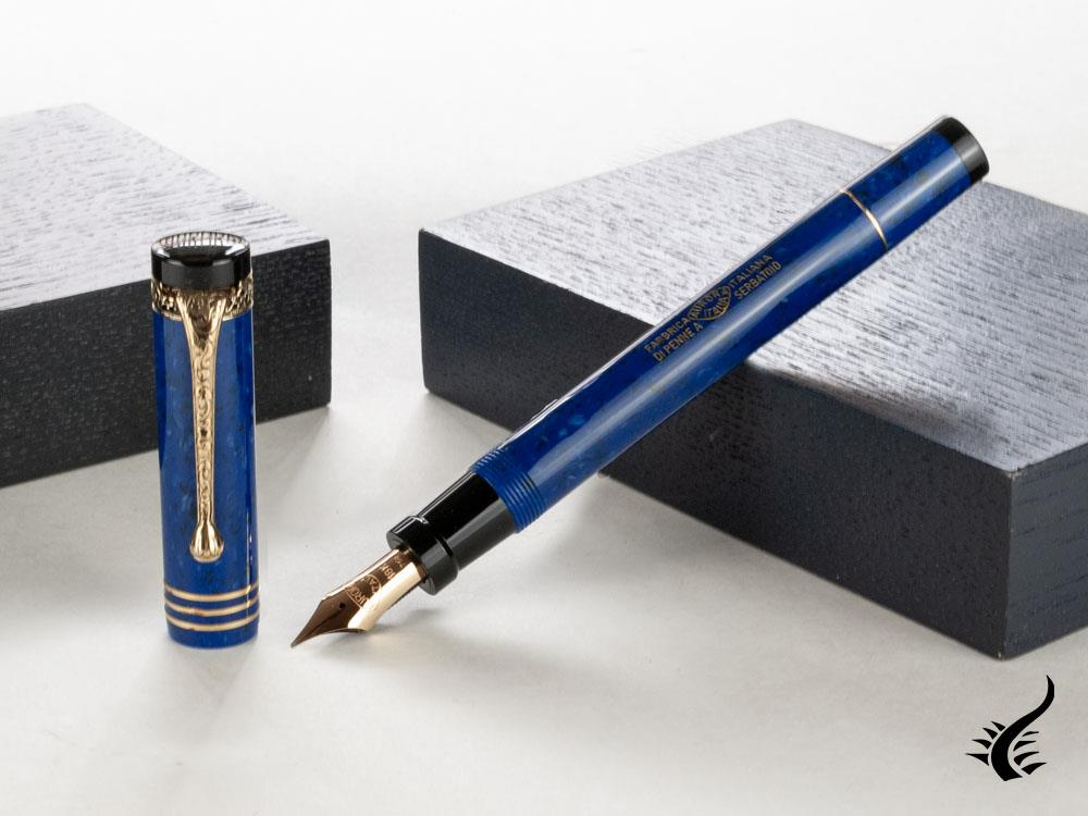 Aurora Internazionale Limited Edition Fountain Pen, Blue, 19A-B