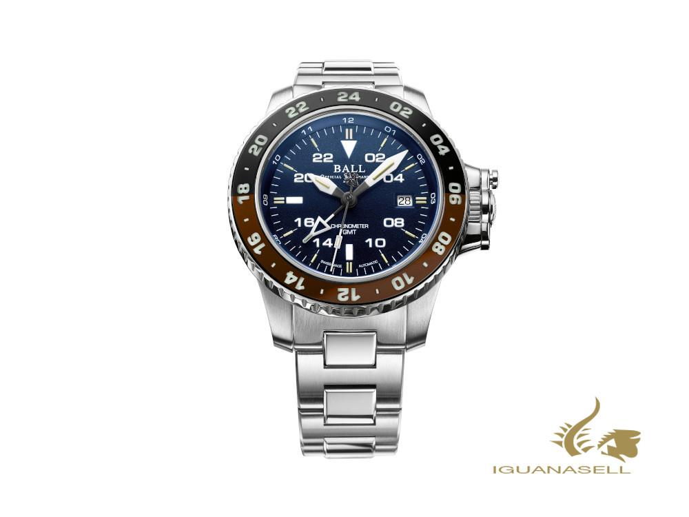 Ball Engineer Hydrocarbon AeroGMT II, Automatic Watch, COSC, DG2018C-S12C-BE