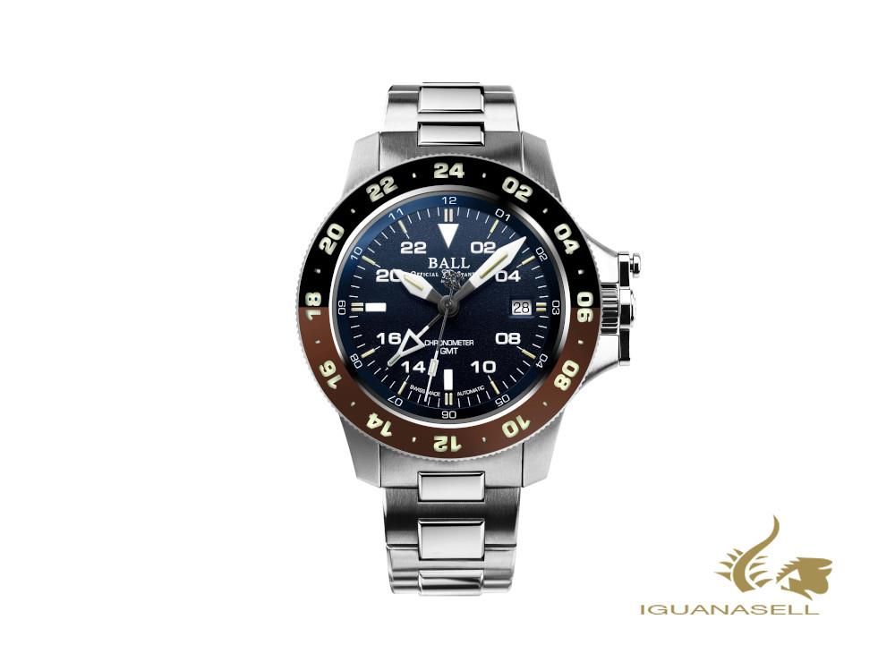 Ball Engineer Hydrocarbon AeroGMT II Automatic Watch, COSC, DG2118C-S12C-BE