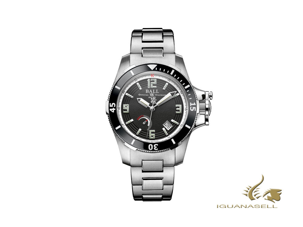 Ball Engineer Hydrocarbon Hunley Automatic Watch, Limited Ed., PM2096B-S1J-BK