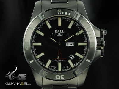 Ball Engineer Hydrocarbon Silver Fox Automatic Watch, RR1102-C, Limited Ed, COSC