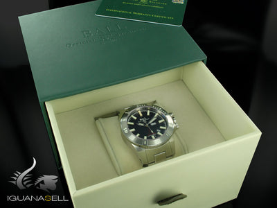 Ball Engineer Hydrocarbon Silver Fox Automatic Watch, RR1102-C, Limited Ed, COSC Ball Automatic Watch
