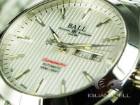 Ball Engineer II Chronometer Red Label Watch, White, Steel bracelet, White. COSC