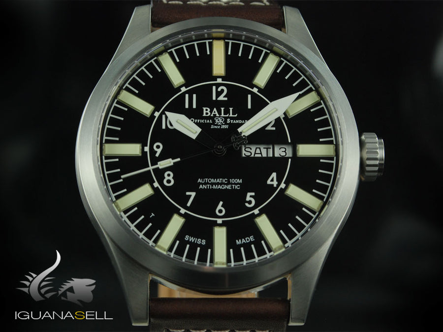 Ball Engineer Master II Aviator Automatic Watch, RR1102, NM1080C-L3-BK