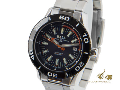 Ball Fireman NECC Automatic Watch, Ball RR1103, Black, 42mm, Steel bracelet