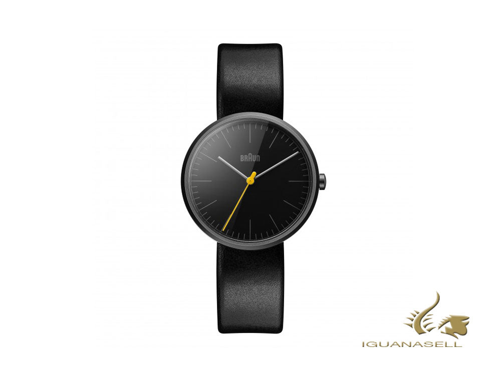 Braun Classic Lady Quartz Watch, Black, 38mm, BN0172BKBKL